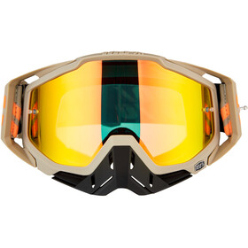 100% Racecraft Anti Fog Mirror Goggles poliet